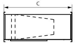 Фильтр прямоугольный карманного типа