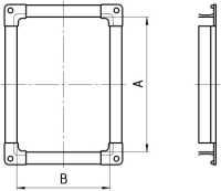 прямоугольные вентиляционные фланцы из шины