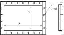 прямоугольные вентиляционные фланцы из уголка