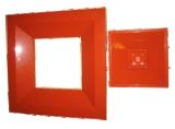 Вентиляционная решетка со съемной частью