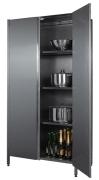 Шкафы кухонные с распашными дверями