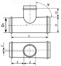 Тройник тип 3