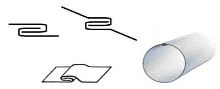 Производство прямошовных воздуховодов