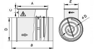 Воздухонагреватели круглые электрические